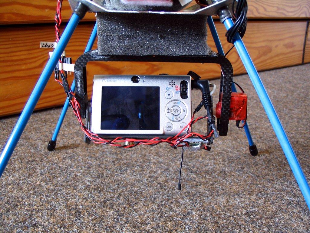 Kamerhaltung mit Ixus 80 - Rückseite