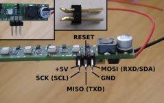 LED Stripe - Anschlussbelegung