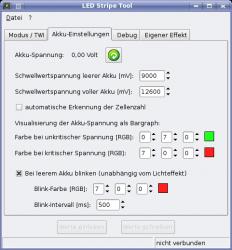 LED Stripe Tool Screenshot