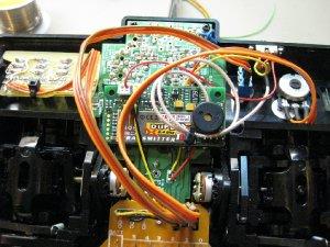 Einbau des TU2-Moduls in die MC-12