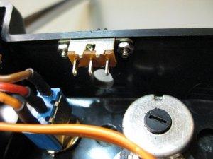 Antennenloch + Schalter